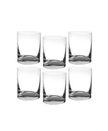 Jogo 06 copos licor 60 ml cristal barline bohemia