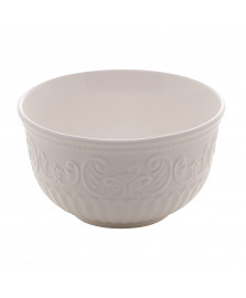 Bowl de porcelana new bone angel branco 12 cm