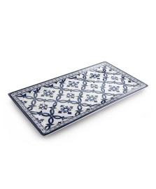 Bandeja retangular melamina azulejo portugues mimo