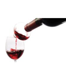 Aerador para vinho de vidro