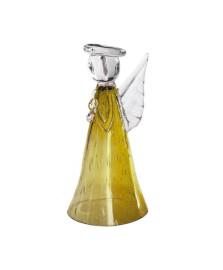 Anjo menadel pequeno ambar vidro house