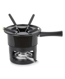 Aparelho de fondue 08 peças viena preto forma