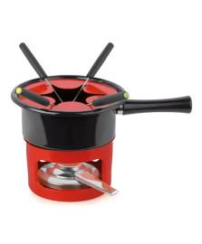 Aparelho de fondue 08 peças viena vermelho forma