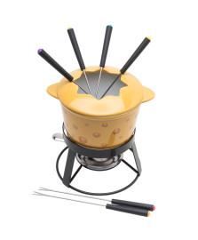 Aparelho de fondue 10 peças cheese bon gourmet saldo