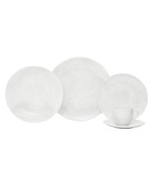 Aparelho de jantar 30 peças coup blanc porcelana oxford