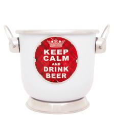 Balde para cerveja titan keep calm bmc