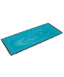 Bandeja de melamina azul 49 cm bon gourmet