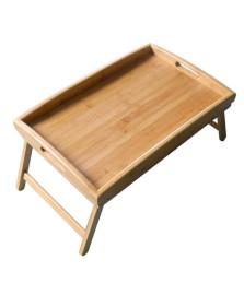 Bandeja para cama em bambu 50 x 32,5 cm dynasty