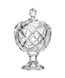 Bomboniere cristal c/ pé 27 cm bruxelas lhermitage