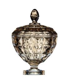 Bomboniere de cristal diamante ambar 17 cm wolff