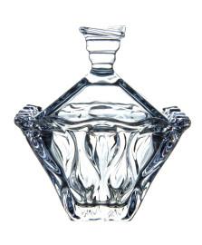 Bomboniere em cristal safir azul wolff