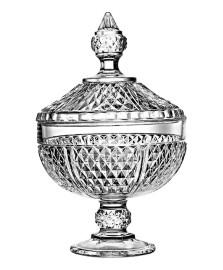 Bomboniere de vidro 24,5 cm diamond pasabahce