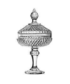 Bomboniere de vidro 30,5 cm diamond pasabahce