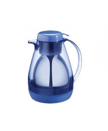 Bule térmico 700 ml com gatilho retro azul