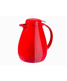 Bule térmico 700 ml com gatilho vermelho