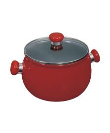 Caçarola alta 20 cm ceramica vermelha ceraflame