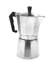 Cafeteira em aluminio para 9 cafés mimo