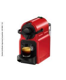 Cafeteira inissia vermelha nespresso