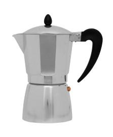 Cafeteira tipo italiana aluminio 9 cafés hercules