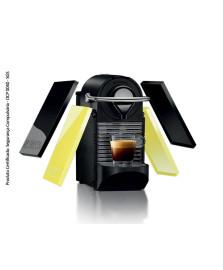 Cafeteira pixie clip c60 preta/lima neon nespresso