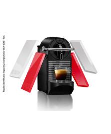 Cafeteira pixie clip d60 bran/coral neon nespresso