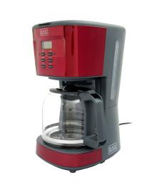 Cafeteira eletrica programavel 1.5 l black decker
