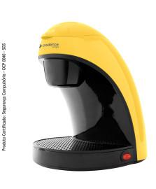 Cafeteira single colors amarela cadence 127v