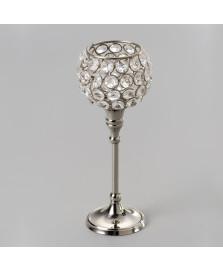 Castiçal de cristal médio 22 cm prestige