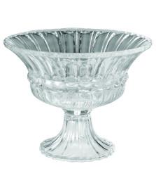 Centro de mesa com pé royal cristal bohemia