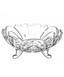 Centro de mesa decorativo de cristal flower 24 cm