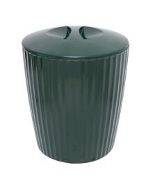 Cesto de lixo groove 5l verde