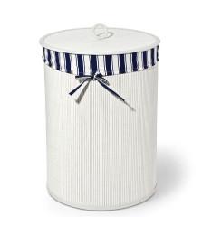 Cesto de roupas branco marinho 50 cm bencafil