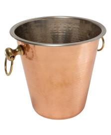 Champanheira em aço inox 4 litros cor cobre fracalanza