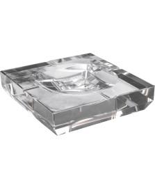 Cinzeiro quadrado cristal prestige