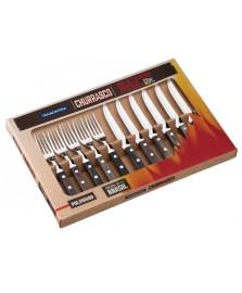 Jogo churrasco 12 peças poliwood tramontina