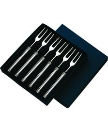 Conjunto de garfos 6 peças para petiscos atenas wolf