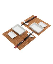 Conjunto para sushi 10 peças kioto lyor
