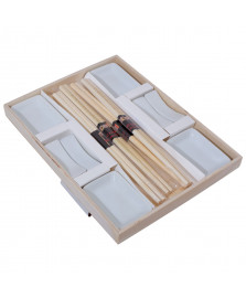 Conjunto 12 pecas para sushi lyor