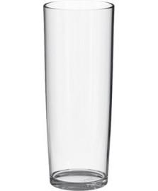 Copo long drink transparente 300ml poliestireno uz