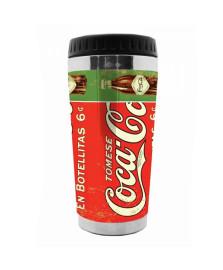 Copo térmico en botellitas fd vermelho coca cola