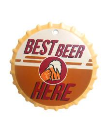 Descanso de panela 20 cm cerâmica best beer