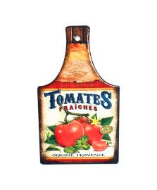 Descanso de panela 22x13 cm cerâmica tomates