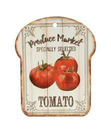 Descanso de panela decorativo tomato em cerâmica 20 x 25 cm dynasty
