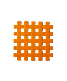 Descanso de panela em silicone laranja kenya