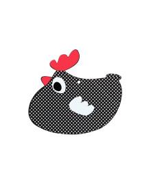 Descanso de panela allegro galinha copa&cia