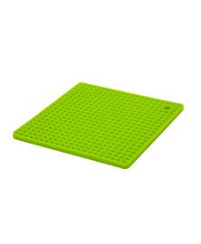 Descanso de panela silicone quadrado verde