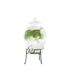 Dispensador de bebidas 06 l vidro casa domani
