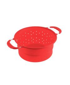 Escorredor em silicone vermelho kenya