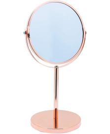 Espelho de aumento com base rose mimo
