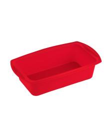 Forma em silicone retangular vermelha kenya